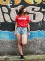 women's-loose-red-t-shirt