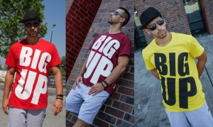 MEN'S / UNISEX T-SHIRT BIG UP