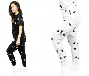 WOMEN'S SWEATPANTS / UNISEKS BAGGY DOLLARS