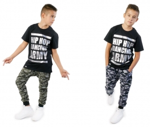 SWEATPANTS FOR CHILDREN NEW BAGGY MORO