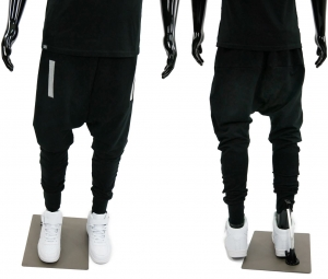 MEN'S SWEATPANTS HIP HOP STREET DANCE BAGGY BLACK STYLE