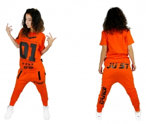 SWEATPANTS BAGGY FIT ORANGE