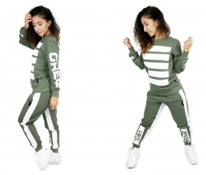 WOMEN'S SWEATPANTS FIT SUPER STYLE OLIVE